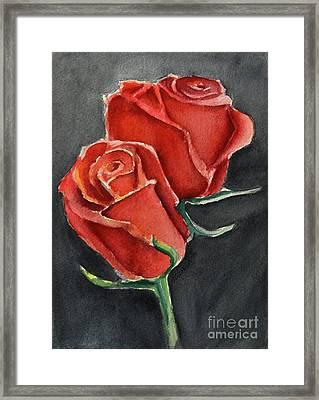 Like A Rose Framed Print