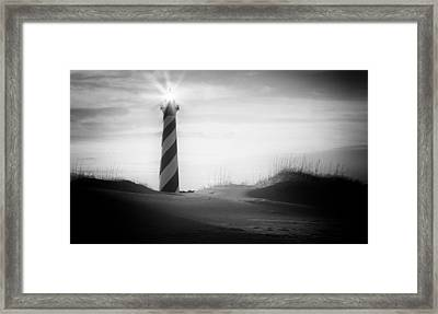 Like A Star Framed Print by Bernard Chen