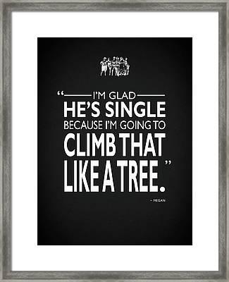 Like A Tree Framed Print