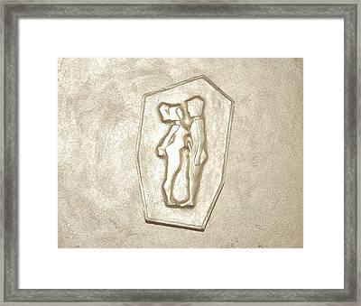 like Adam and Eva Framed Print by Alexander Almark