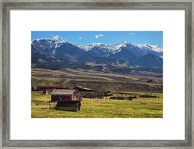 Like An Old Western Movie Framed Print by James BO Insogna