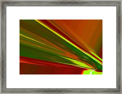 Like An Arc Of Light Framed Print by Jeff Swan