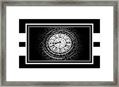 Like Clockwork Framed Print by Darin Baker