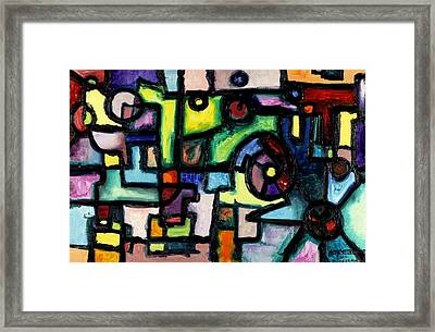 Like Clockwork Framed Print