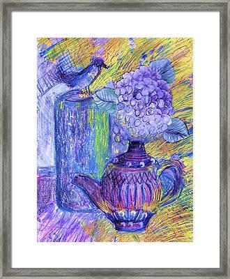 Like It Or Not It Is Different Framed Print by Anne-Elizabeth Whiteway