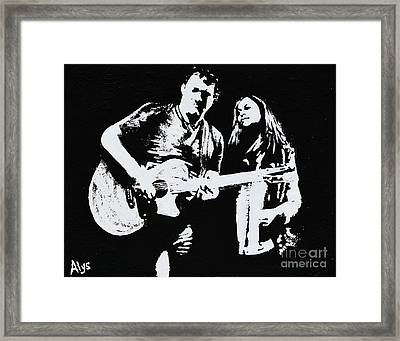 Like Johnny And June Framed Print