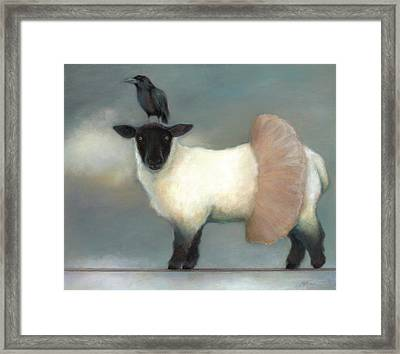 ...like Lambs.. Framed Print by Katherine DuBose Fuerst