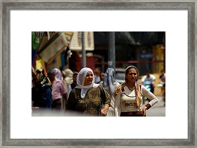 Like Mother Like Daughter Framed Print by Don Prioleau