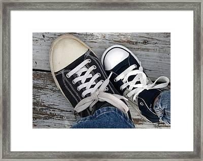 Like Mother Like Son Framed Print by Annie Babineau