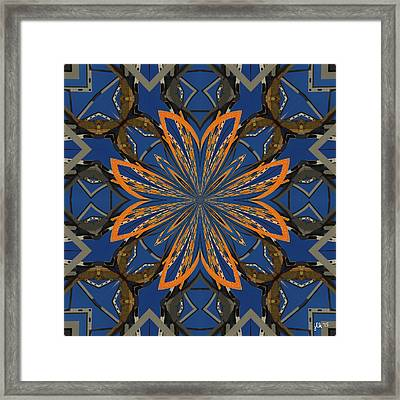 Like Moths To A Flame Framed Print