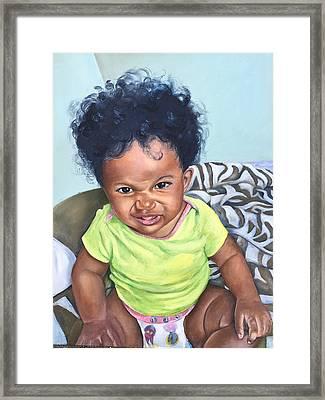 Lil Suga Momma Framed Print