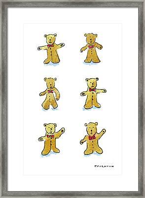L'il Teddies Framed Print