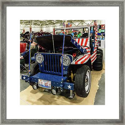 Framed Print featuring the photograph Lil Ugly by Randy Scherkenbach