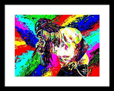 Lil Wayne Framed Prints