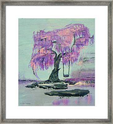 Lilac Dreams- Prince Framed Print