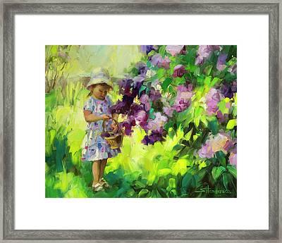 Lilac Festival Framed Print