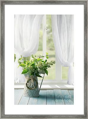 Lilac Still Life Framed Print