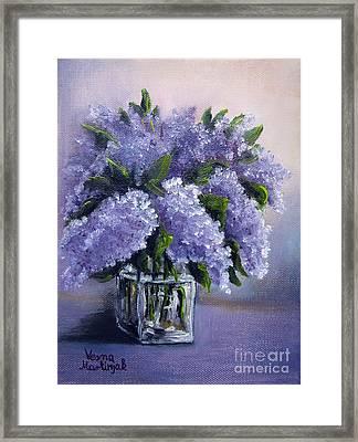 Lilac Framed Print
