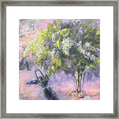 Lilacs Number One Framed Print