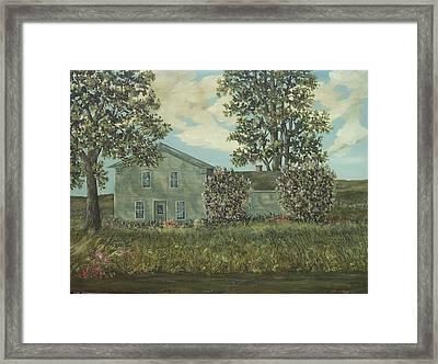 Lilacs Framed Print