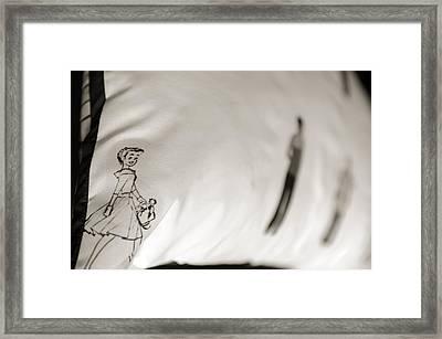Lili Framed Print by Jessica Rose