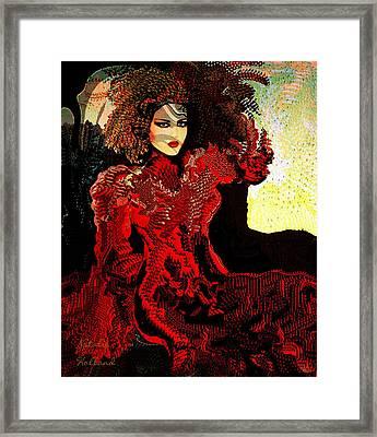 Liliana Framed Print by Natalie Holland