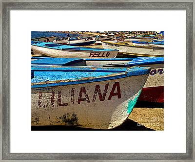 Liliana Framed Print by Mexicolors Art Photography