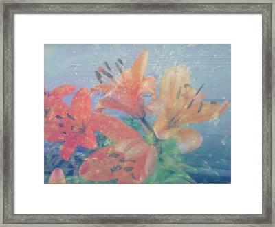 Lilies #1 Framed Print