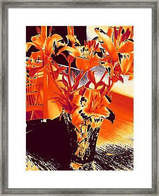 Lilies #2 Framed Print