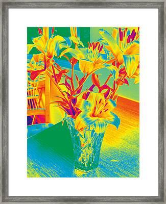 Lilies #3 Framed Print