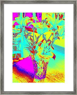 Lilies #4 Framed Print