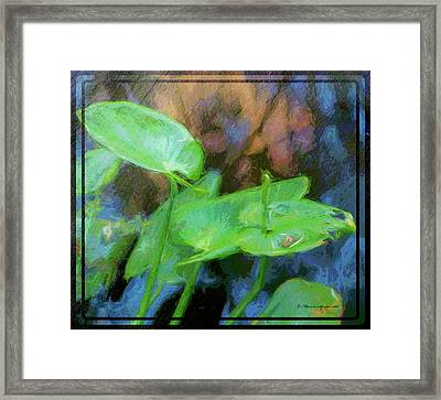 Lilies Framed Print by Marvin Spates