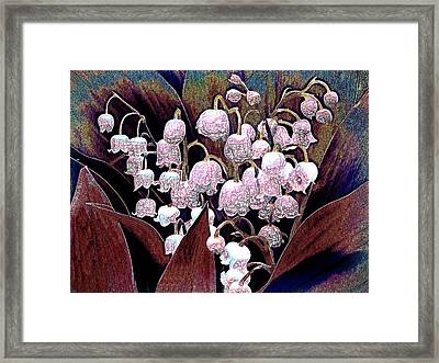 Lilies Of The Valley Framed Print
