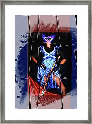 Lilin-demon Framed Print