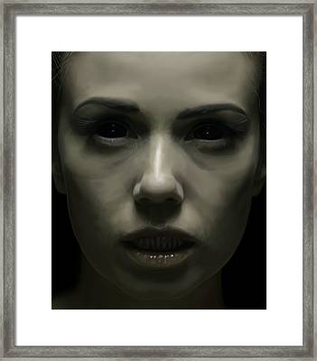 Lilith Framed Print by Michael Gibbs