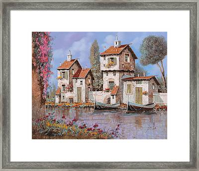 Lilla Framed Print by Guido Borelli