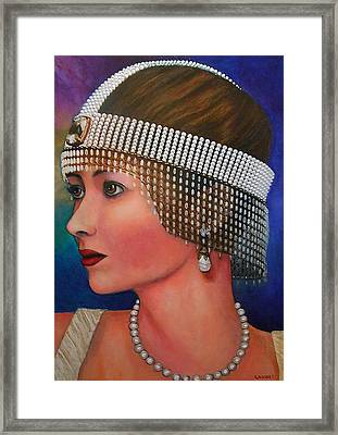 Lillian Framed Print by Michael Durst