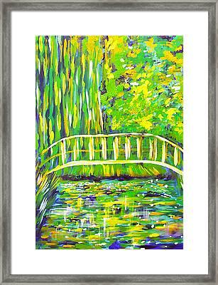 Lillies Framed Print by Paul SANDILANDS