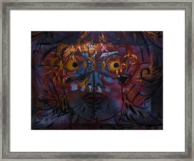 Lillys Glow Box   Framed Print by Dorian Williams