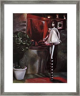 Lillys Framed Print by Lori Keilwitz