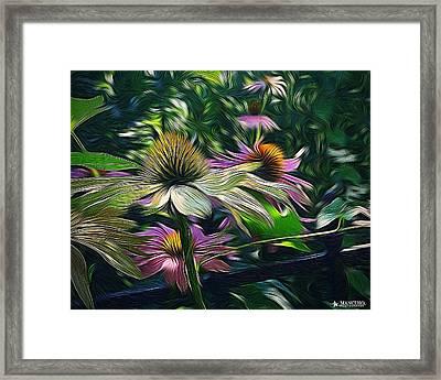 Lil's Garden Framed Print