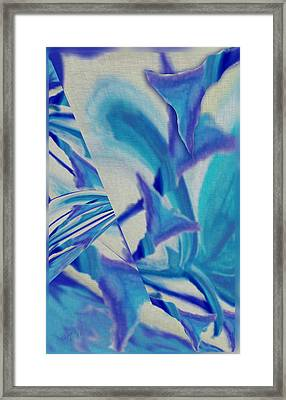 Lily Abstract #1 Framed Print