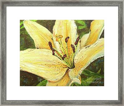 Lily Dream Framed Print
