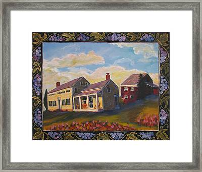Lily Hill Framed Print