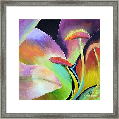 Lily Too Framed Print