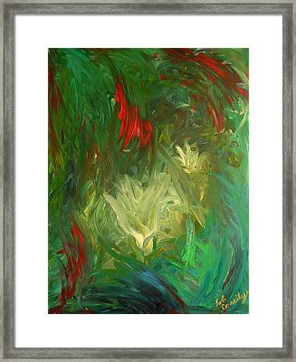 Lily Framed Print by Lola Connelly