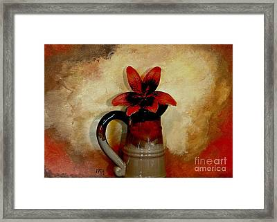 Lily Lovely Framed Print