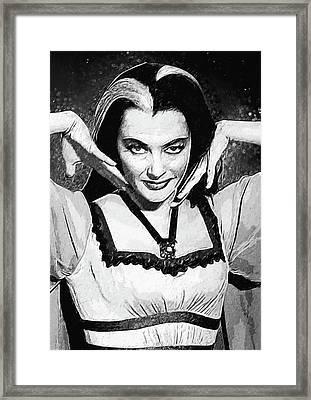 Lily Munster Framed Print