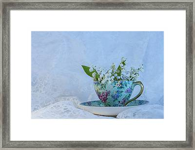 Lily Of Valley Framed Print