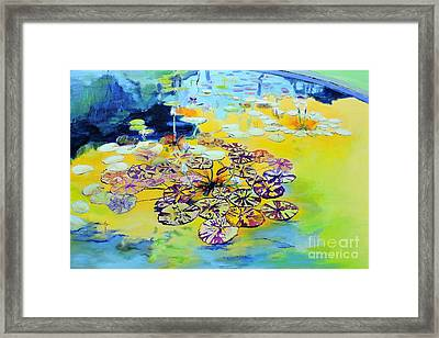 Lily Pad Dreams Framed Print